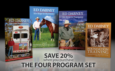 F. Gentle Horsemanship Four DVD Complete Library