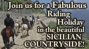 Riding Holiday in Sicilian Countryside